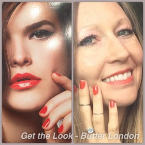 Butter London- Get the Look Cosmetics