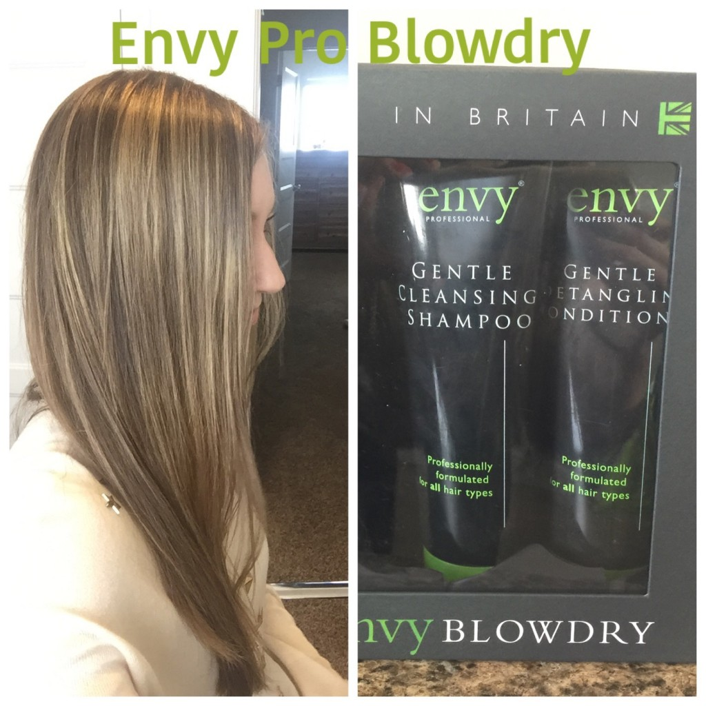 envy pro blow-dry hair