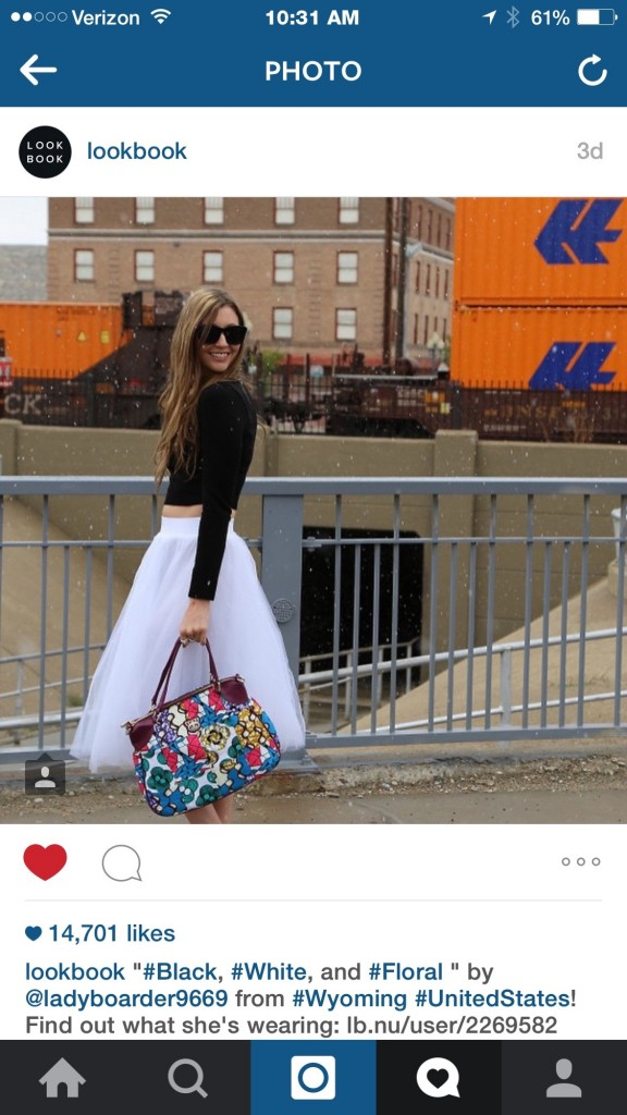 MyStyleSpot on Lookbook- 14k instagram likes!