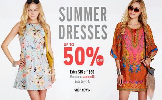 Get 50% OFF All Summer Dresses - MyStyleSpot