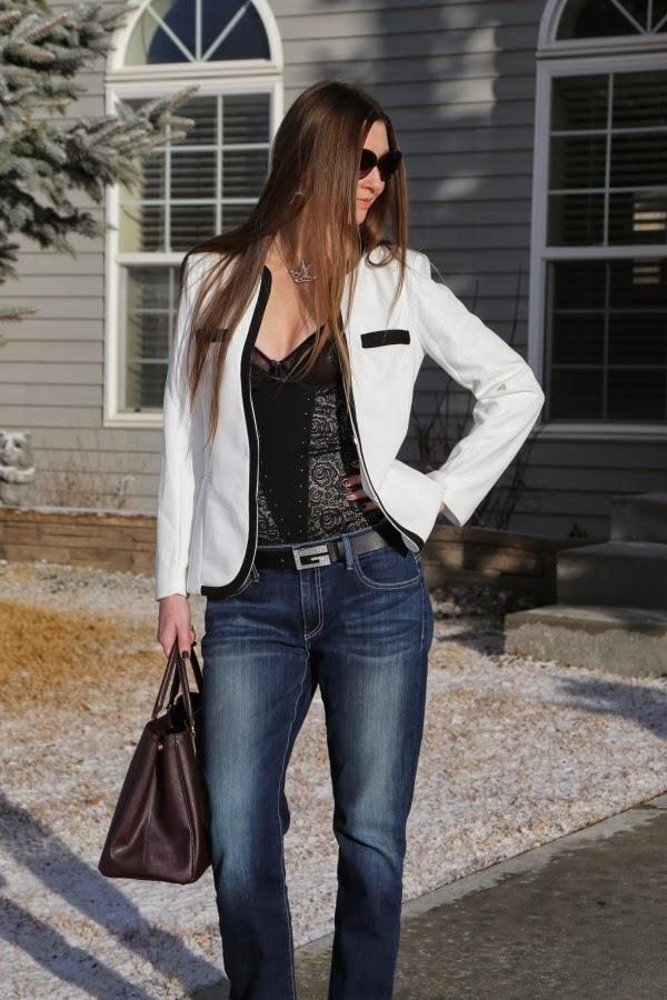vedette shapewear as outerwear