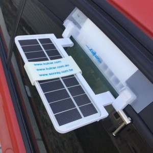 Kulcar Solar Powered Car Cooler
