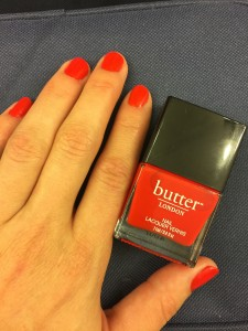 Butter London Ladybird Nail Polish