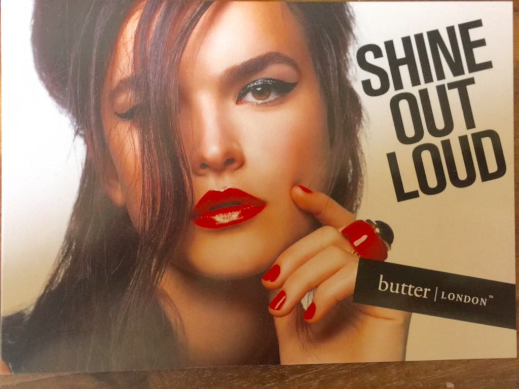 Shine out loud- butter london