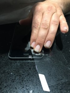 IntelliArmor Phone Screen Protector How-to