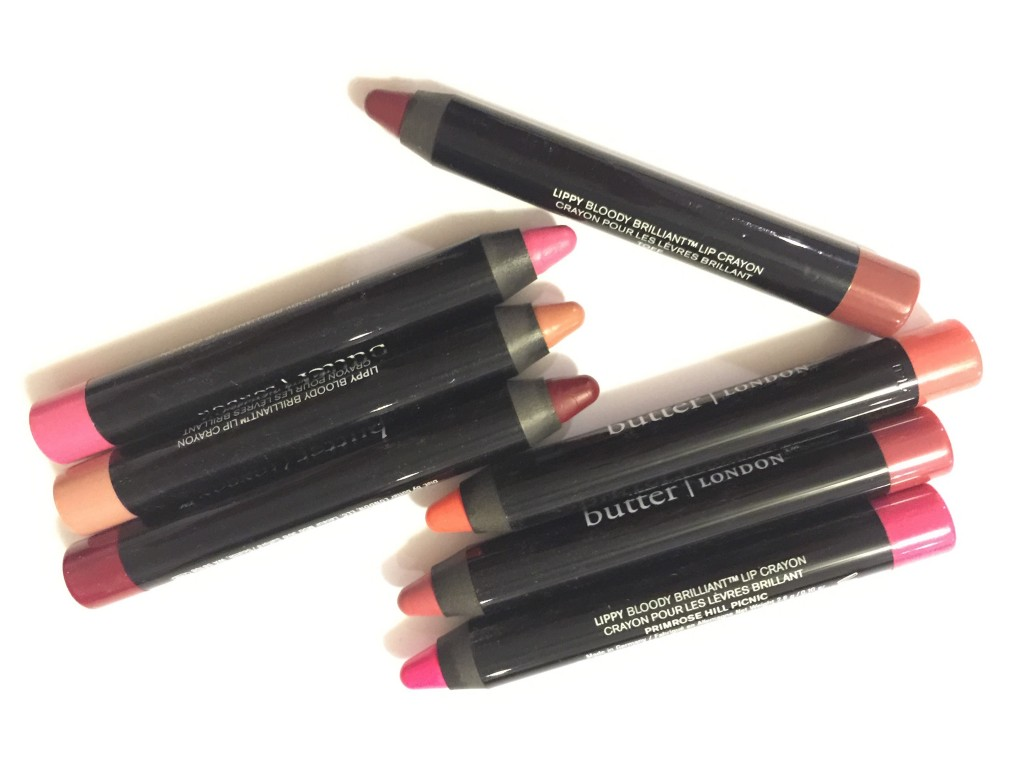 Butter London Bloody Brilliant Lip Crayons Cosmetics