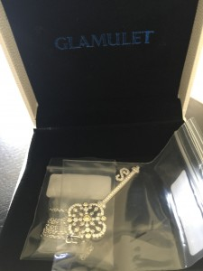 Glamulet silver key pendant necklace