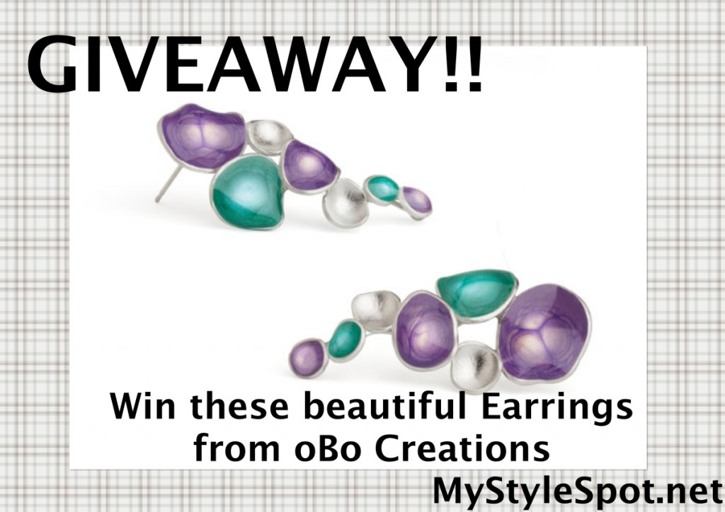 Win earrings from obo creations