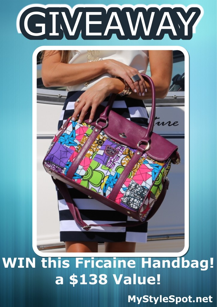 Fricaine Handbag GIVEAWAY