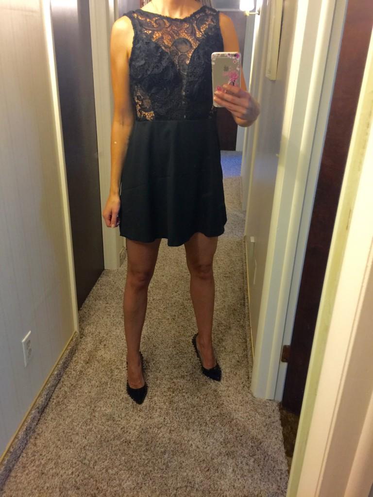 LBD lace dress on Amazon