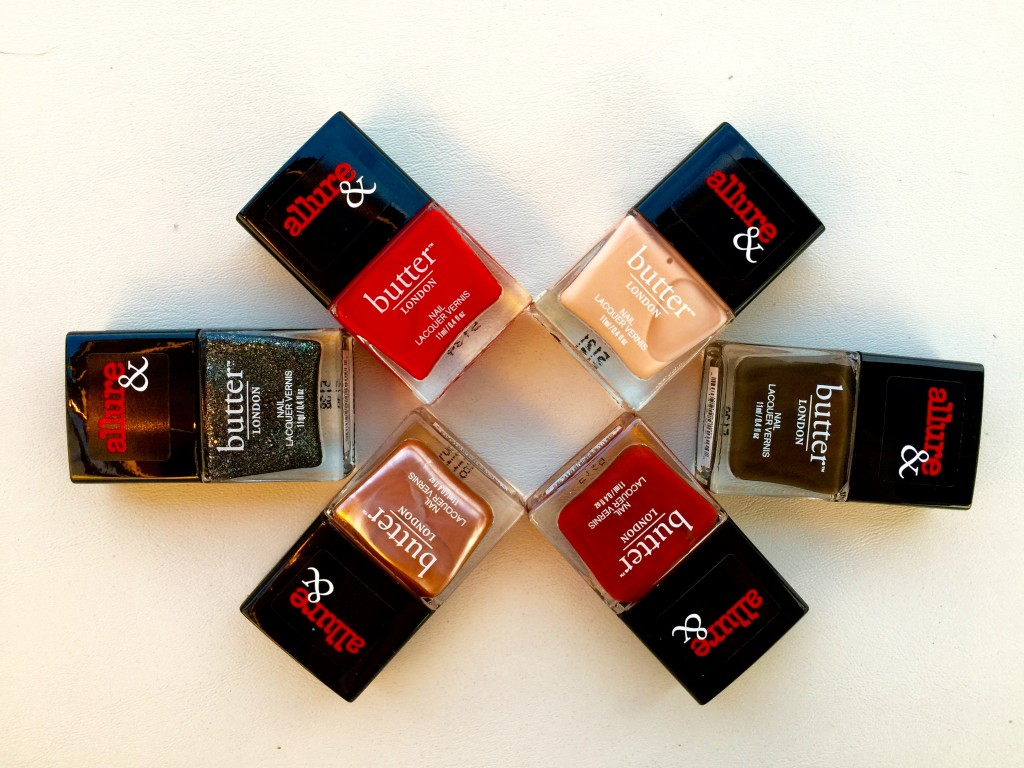 Butter London for Allure Nail Polish