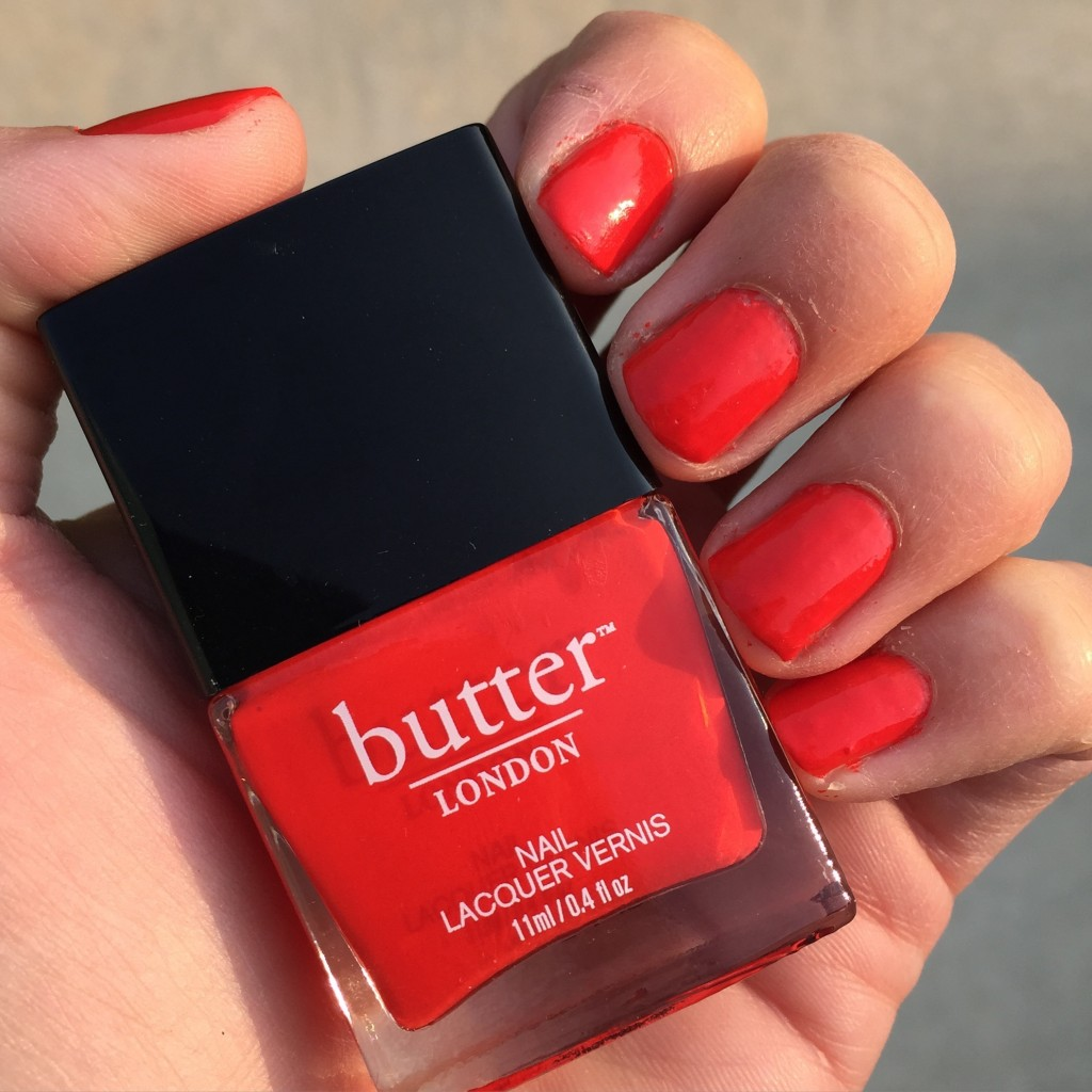 butter london in statement piece