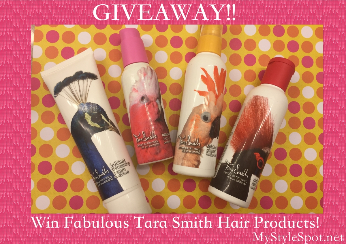 Win Tara Smith Hair Care