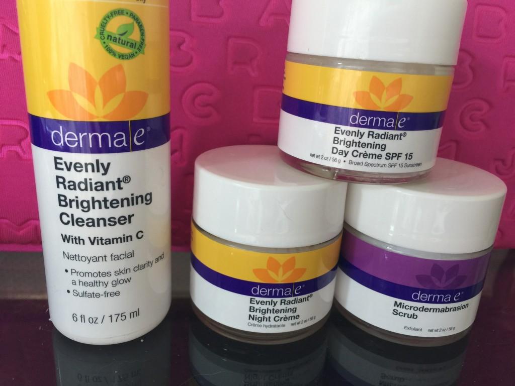 Derma e Radiant skincare