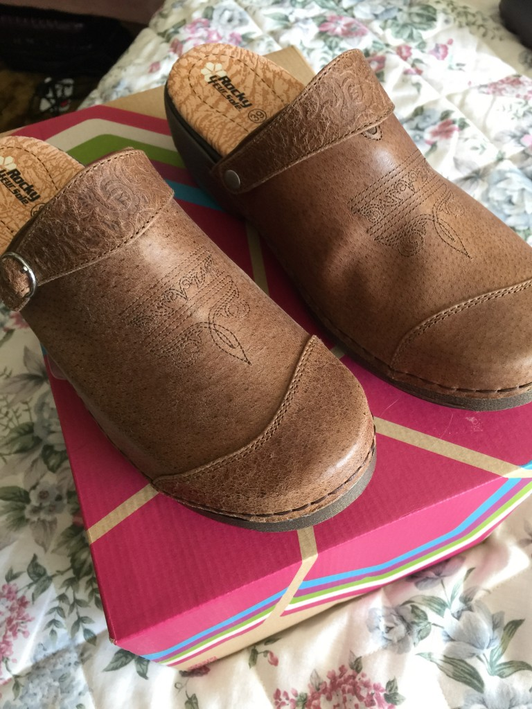 Rocky 4eur sole worn 2nd way-strap forward, no back for heel