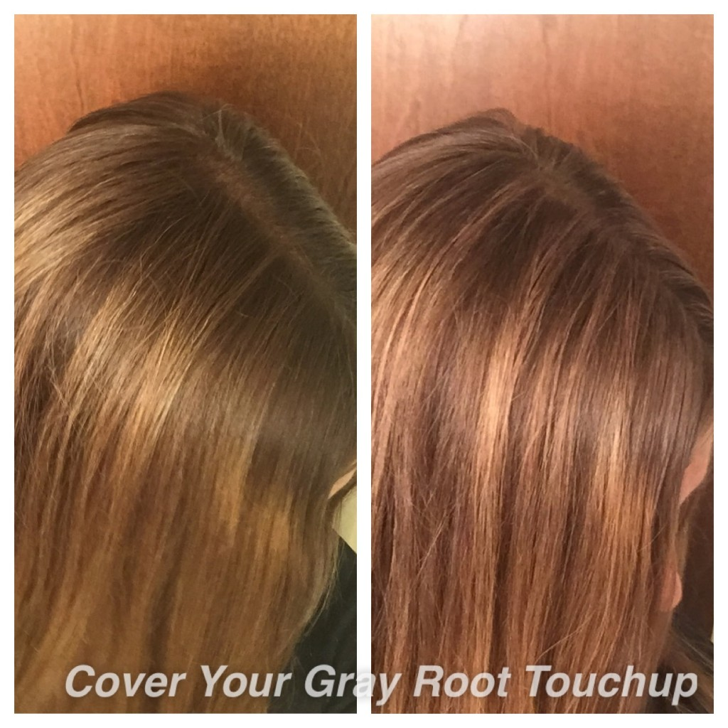 root touch up before and after