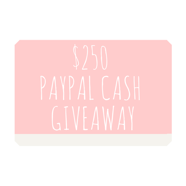 Win $250 paypal cash!