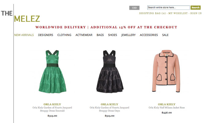 13 Clothing Stores Online With Free Shipping To Australia. Free shipping only comes with orders over $50, but that's roughly the price of a dress on this site, so it works out.