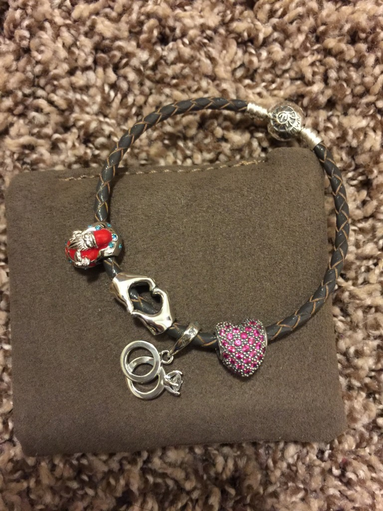 glamulet leather charm bracelet