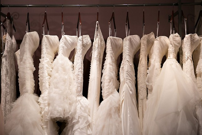 shopping for wedding dresses in china