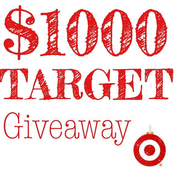 $1000 Target gift card giveaway