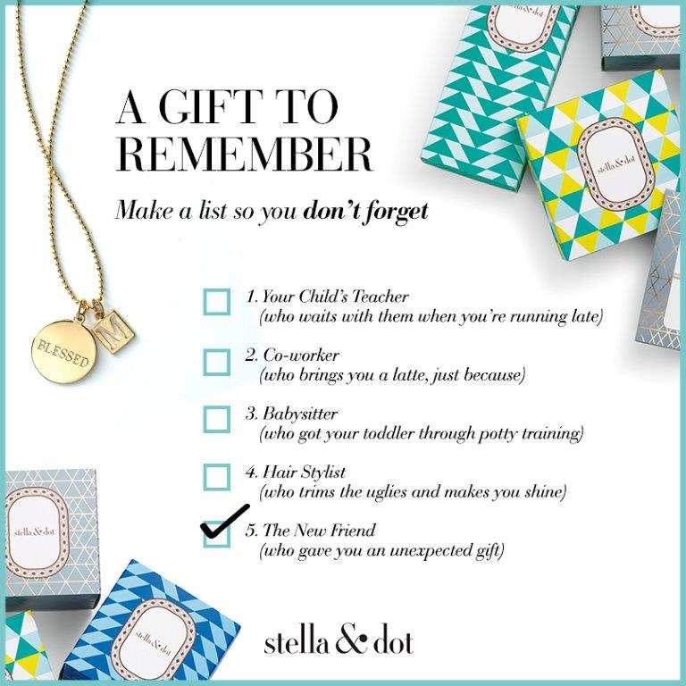 stella and dot holiday shopping
