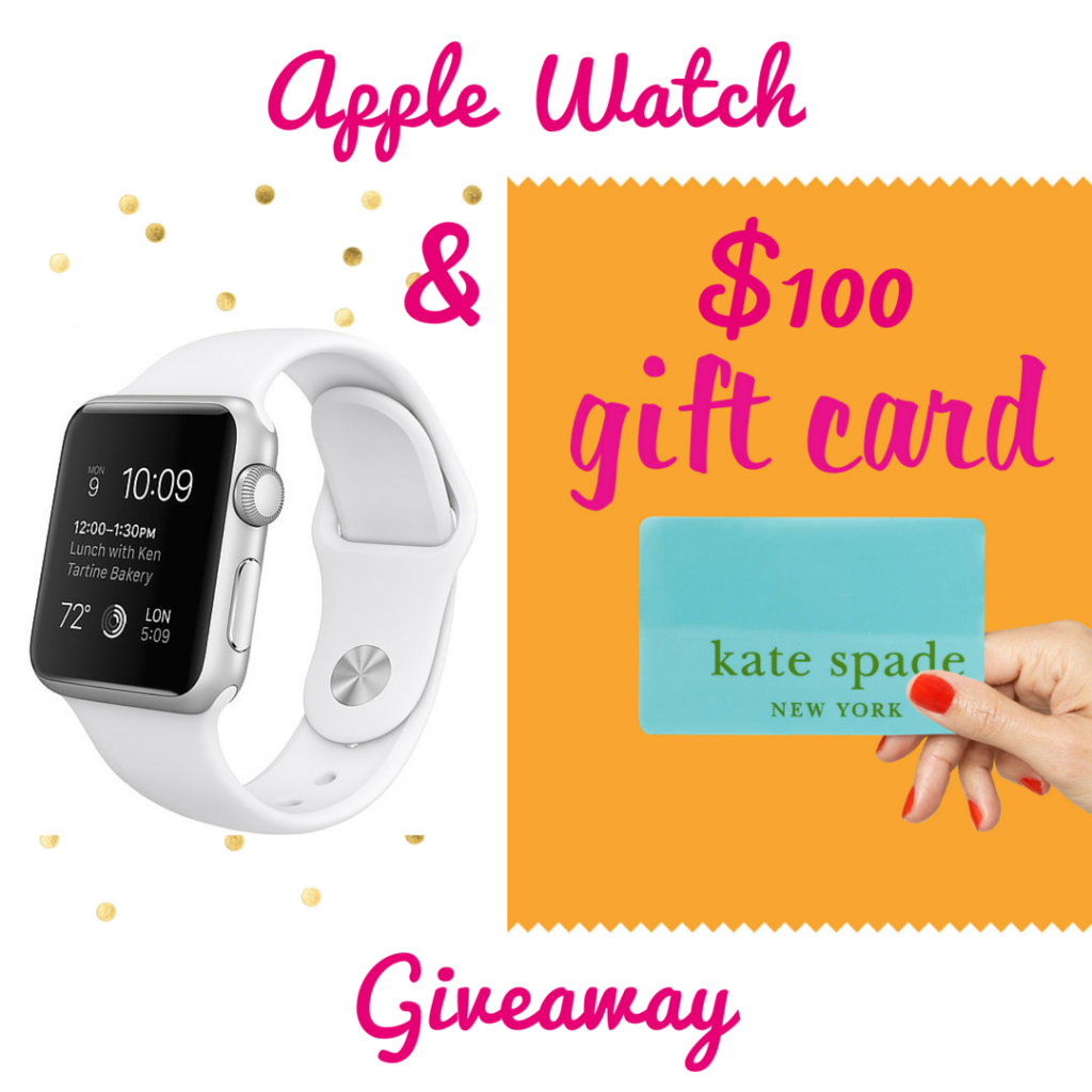 apple watch and kate spade giveaway