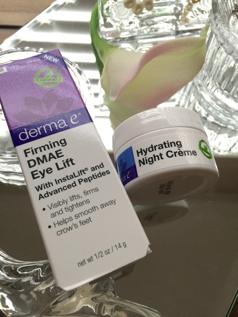 derma e eye and night cream