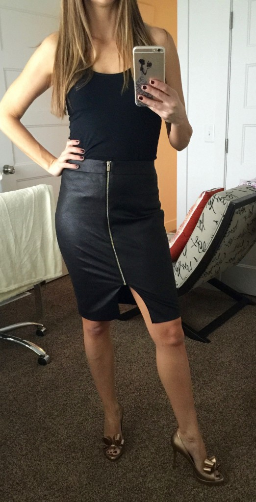 elaine pencil skirt by rita and phil