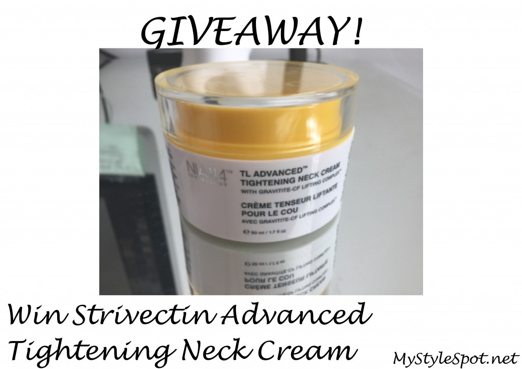 Giveaway: Win Strivectin neck tightening cream