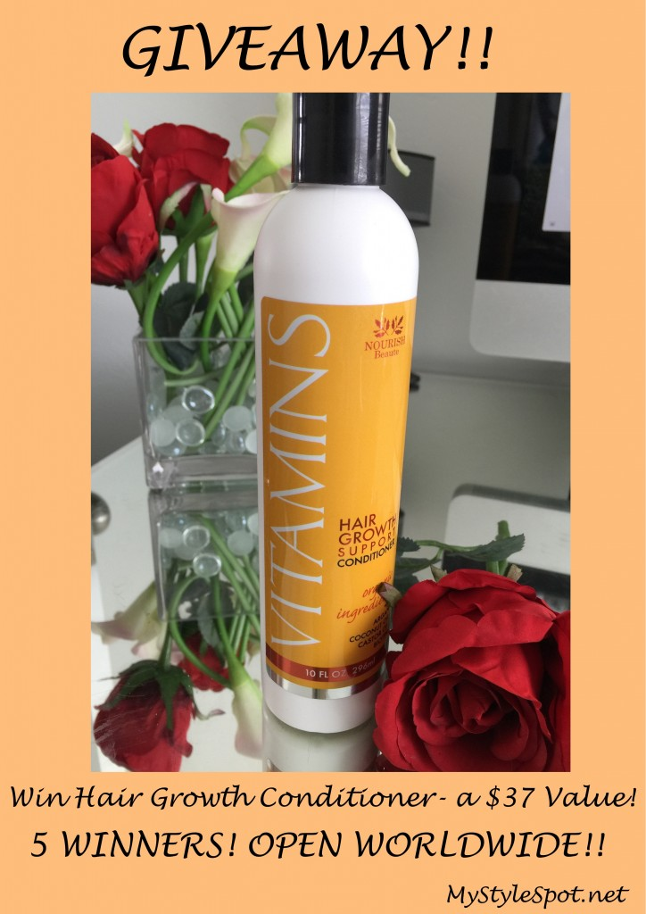 vitamins hair growth conditioner giveaway