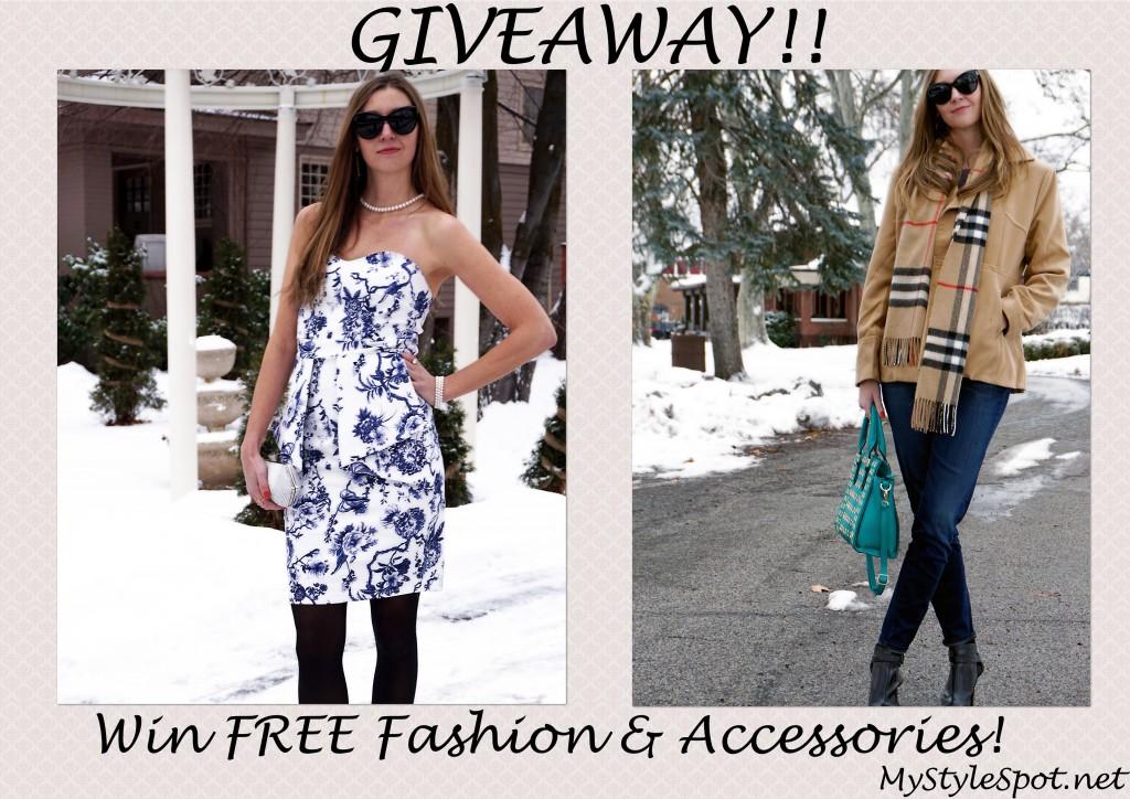 Win FREE fashion and accessories