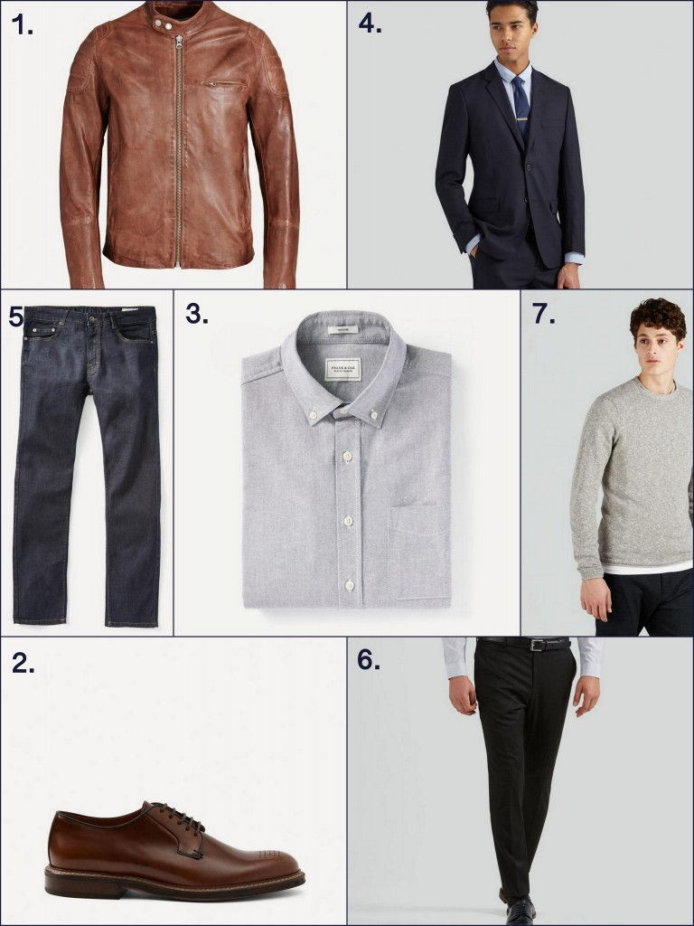 frankandoak 7 must have pieces for instant mens style