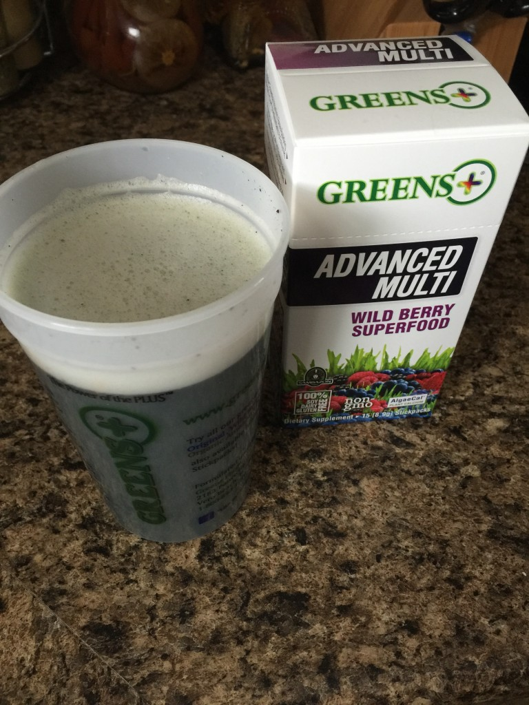 greens plus shake
