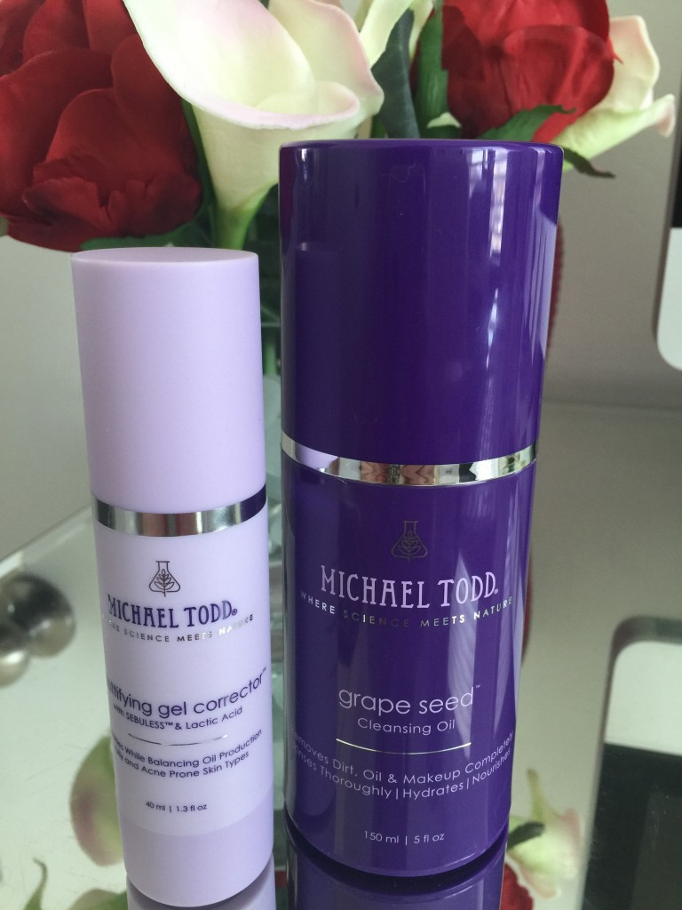 Michael todd oil cleansing wash and serum