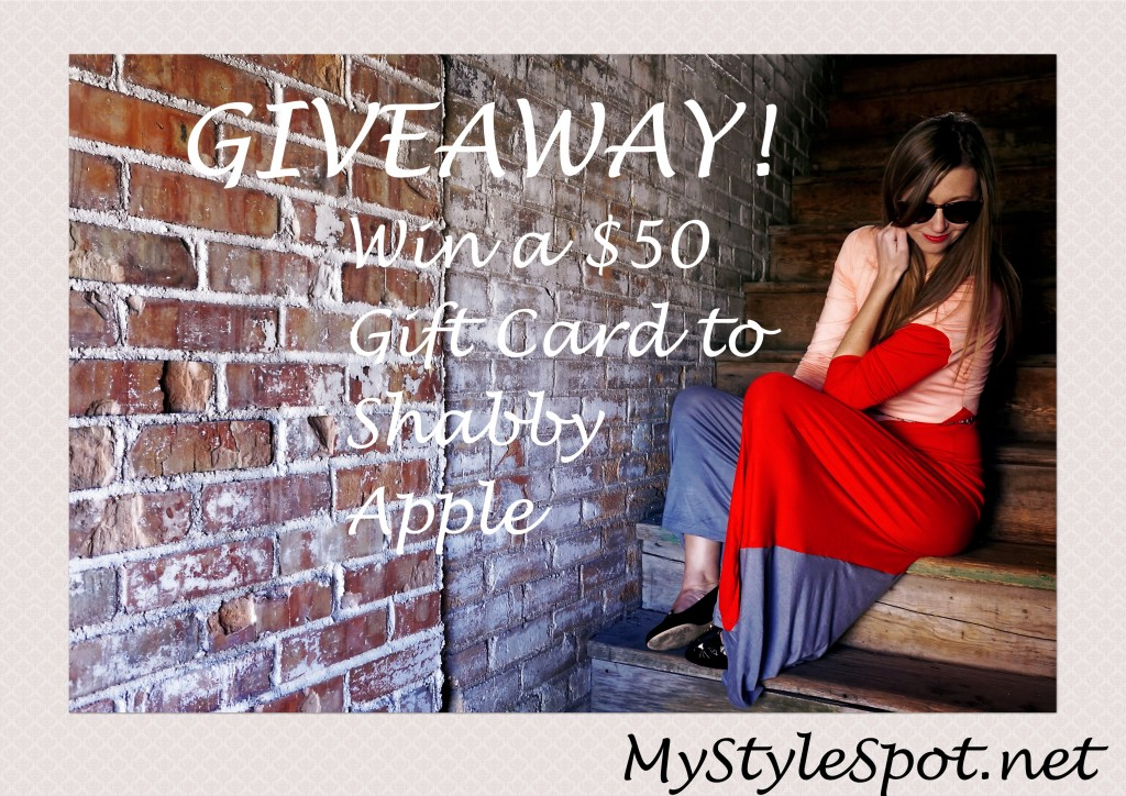Shabby apple fashion giveaway