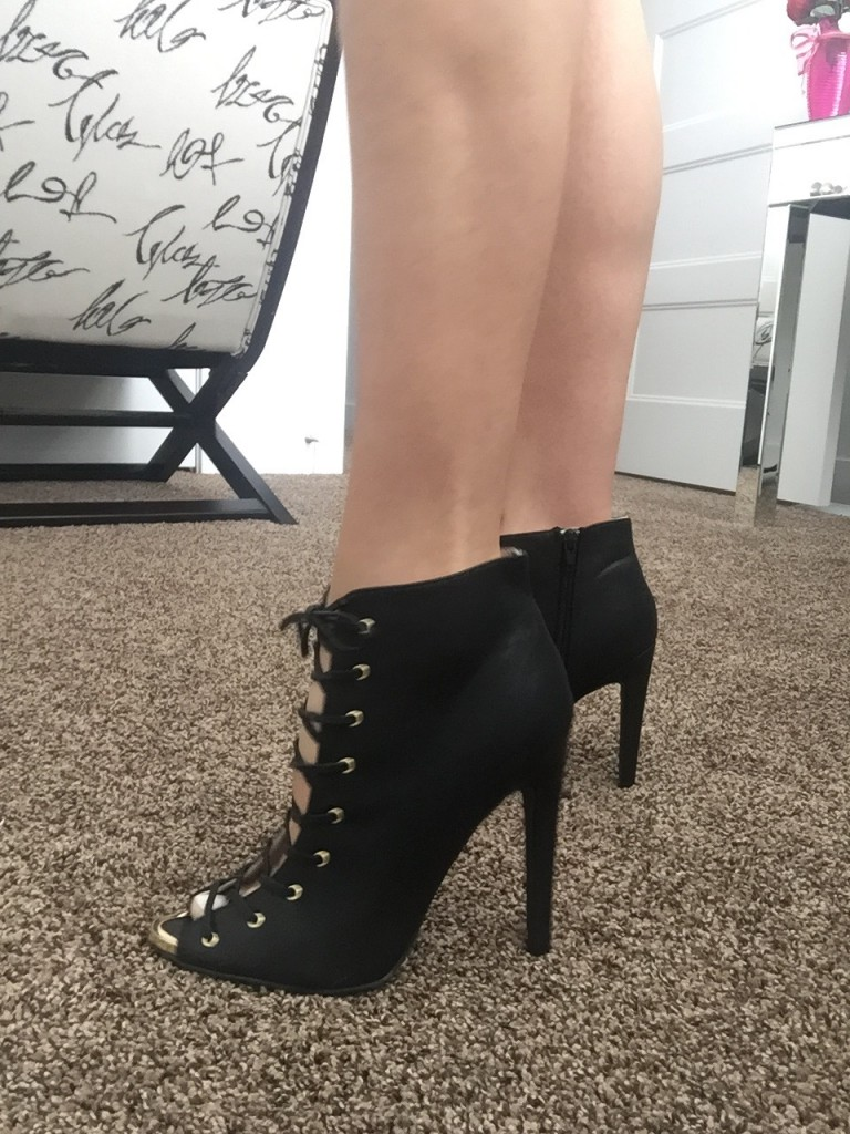 zooshoo black booties
