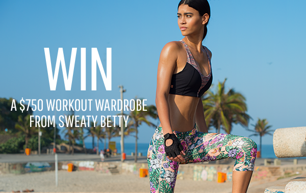 win $750 in fitness clothing