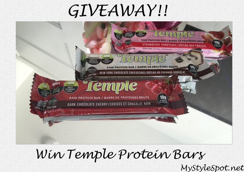 win temple protein bars