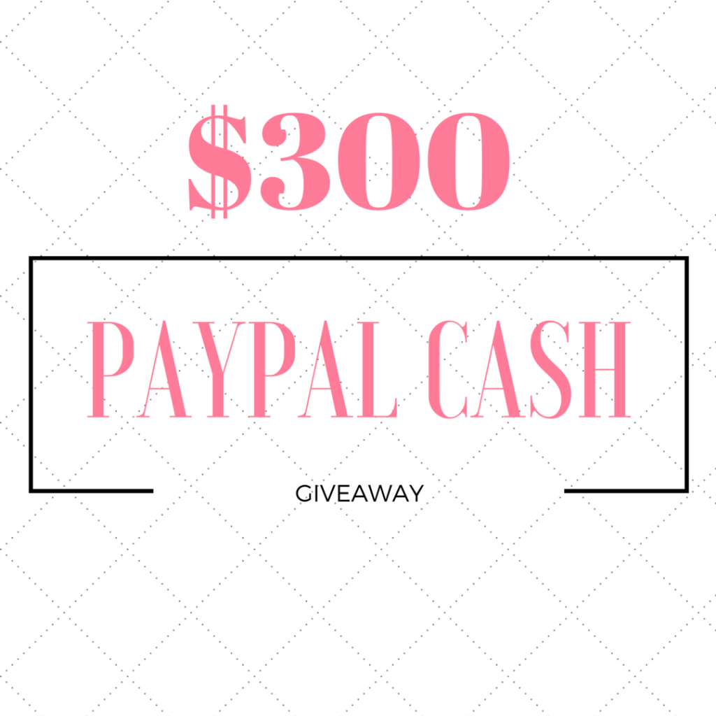 win $300 paypal cash