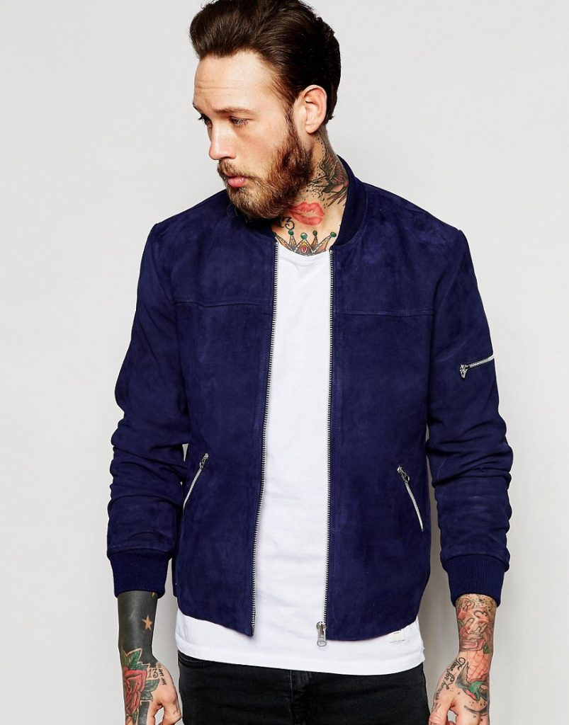 mens bomber jacket from asos