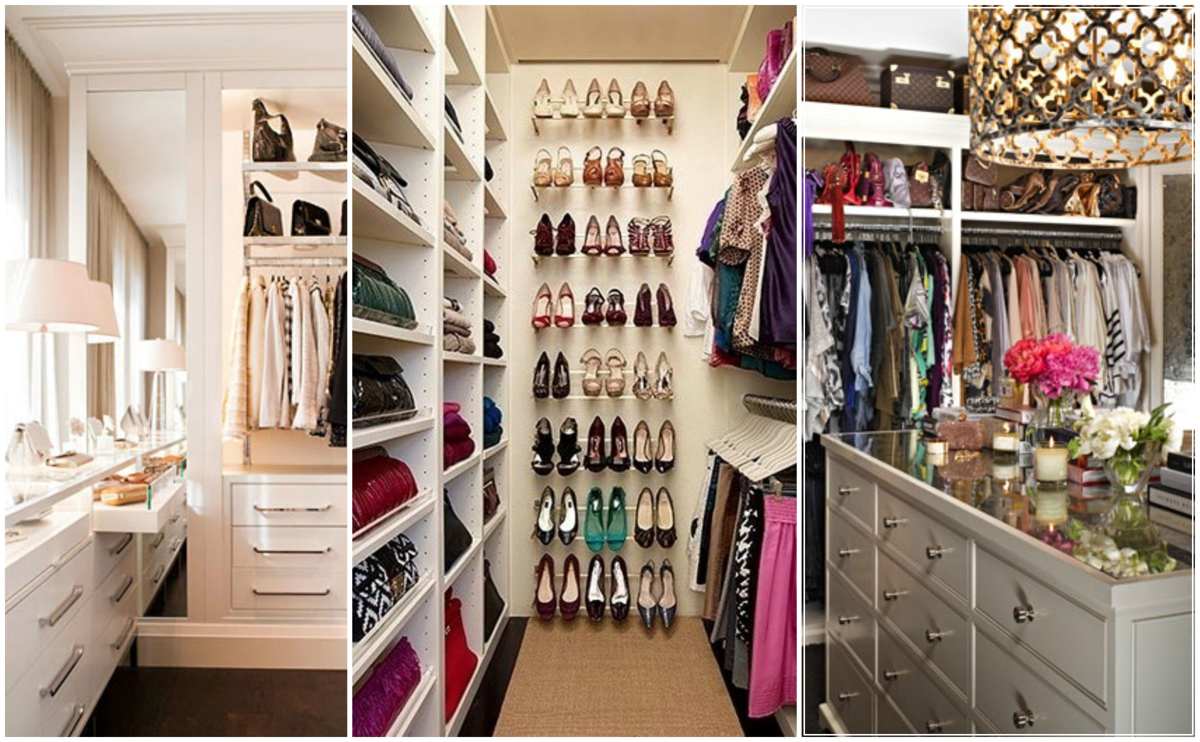 How to organize your closet for summer mystylespot for Organized walk in closet