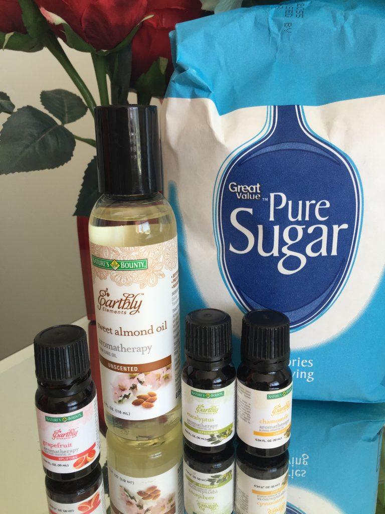 DIY- after sun Relaxing Sugar Scrub 3