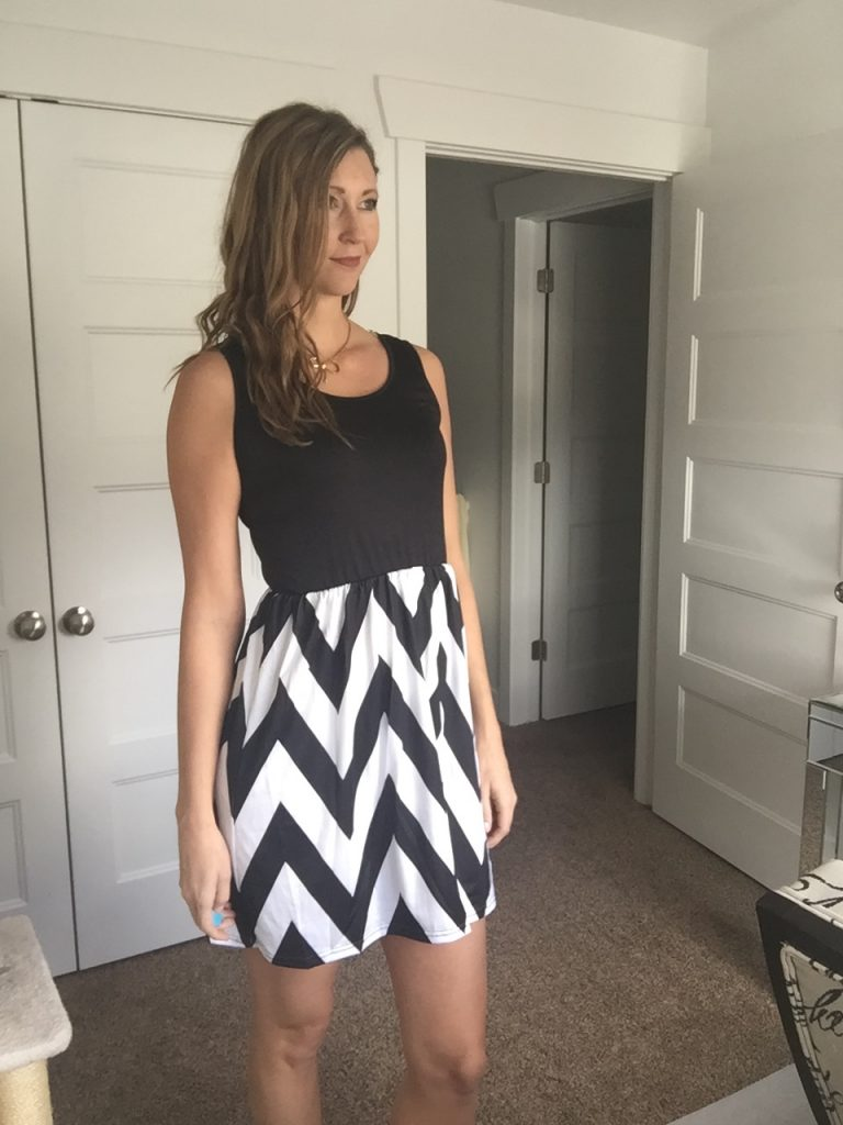 Win a cute chevron tank dress