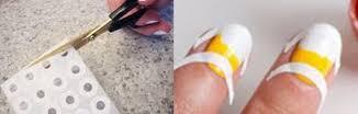candy corn nail art tutorial for halloween
