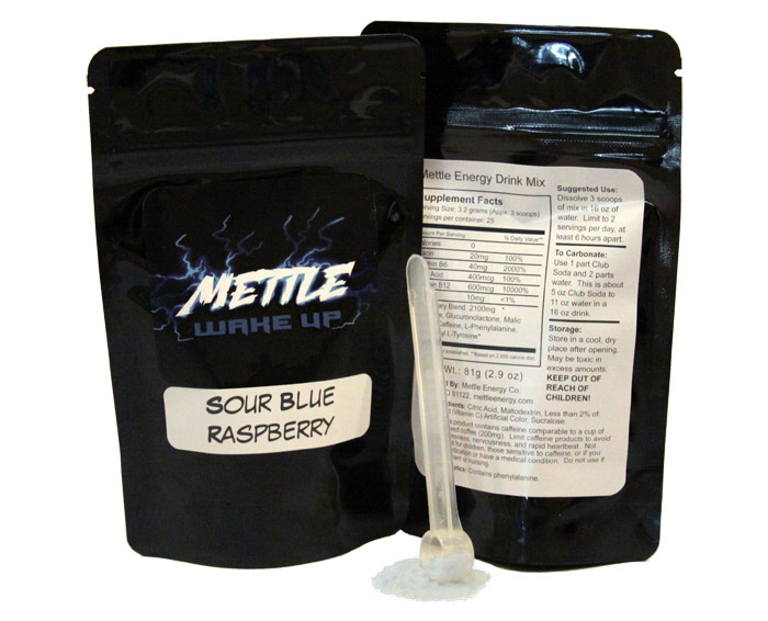 mettle energy drink mix