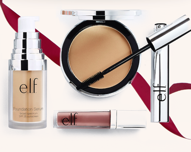 Save 50% off all elf cosmetics for singles day