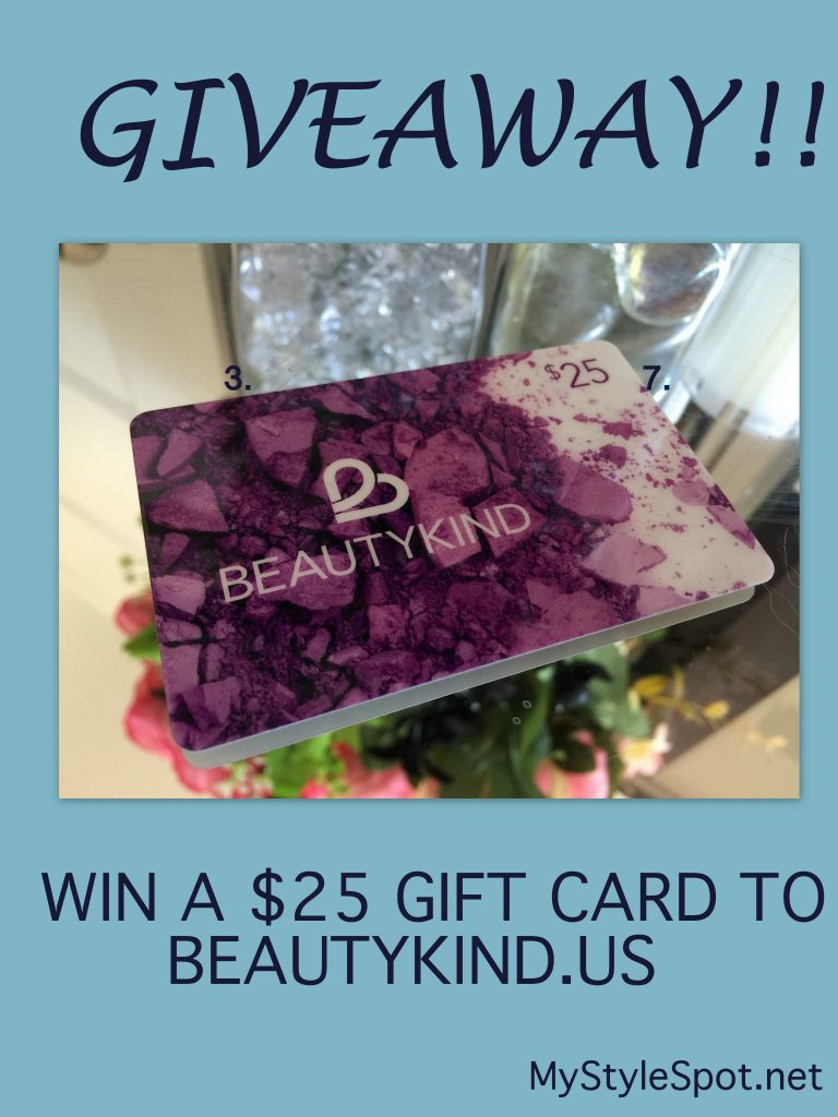 Win $25 gift card to Beautykind