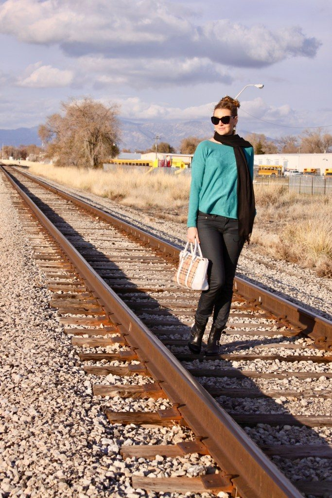 Win this cozy $89 teal sweater from prAna and MyStyleSpot