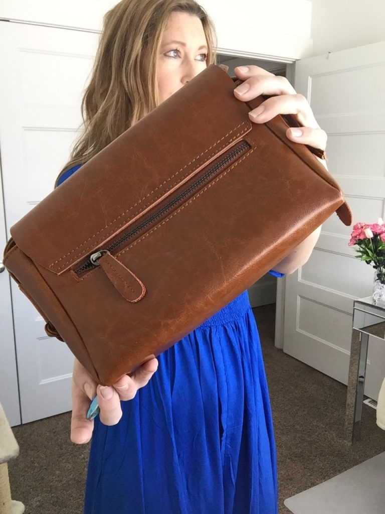 Win a leather handbag